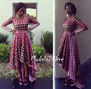 robe mode africaine african fashion ankara kitenge With robe longue africaine