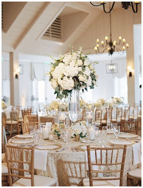 and gold reception decoration 25 best ideas about white wedding linens on