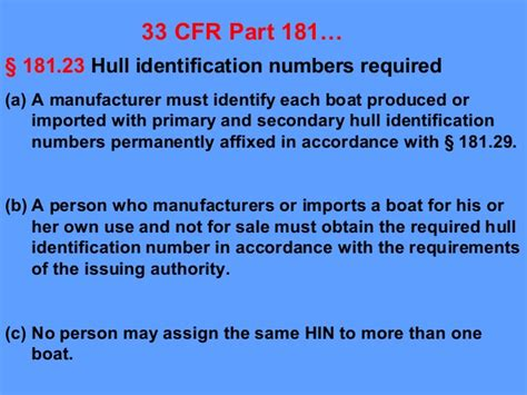 Boat Manufacturers Hull Identification Number by Hin Validation And Verification