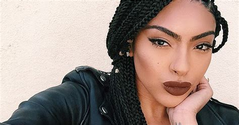 black braided hairstyles  extensions popsugar beauty