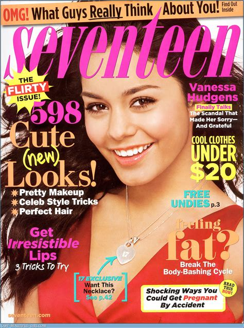 Seventeen Magazine Images Vanessa In Seventeen Hd