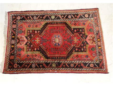 petit tapis ancien laine nouee anatolie perse antique