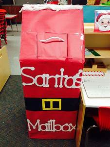 letters to santa mailbox christmas pinterest writing With santa letter box