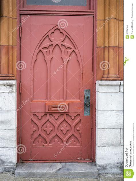 Ornate Old Door Stock Image Image Of Ball, Knocker