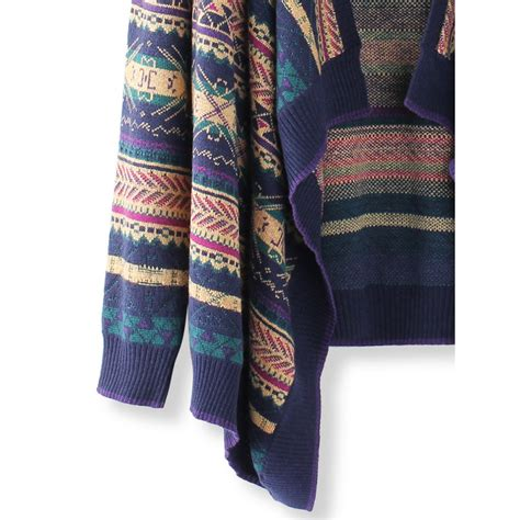 colorful cardigans buy fashion colorful stripes sleeved knitted sweater