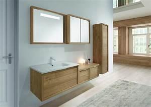 Alinea Miroir Salle De Bain : maison alinea salle de bain avec meubles en bois clair ~ Teatrodelosmanantiales.com Idées de Décoration