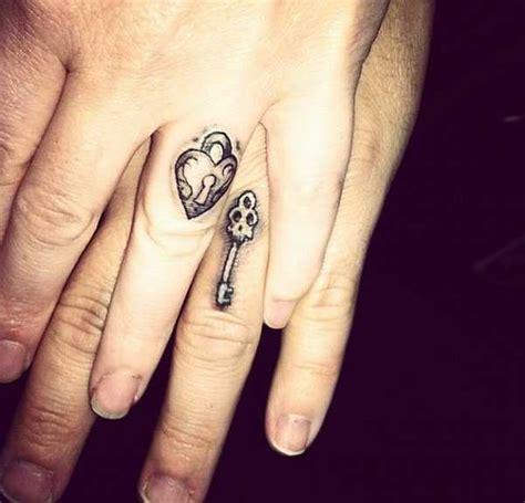 pin auf tattooed wedding rings