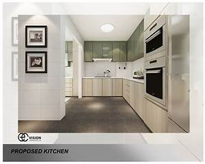 9 kitchen design ideas for your hdb flat With kitchen design for hdb flat