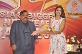 CCIL CMD Rajeev Reddy with Gauhar Khan at Country Club of ...