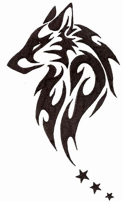 Tribal Tattoo Wolf Designs Animal Head Tattoos