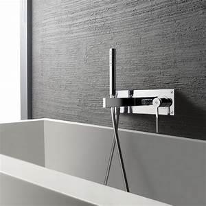 Mitigeur Thermostatique Monotrou Pour Baignoire : mitigeur bain douche design mural encastr douchette ~ Edinachiropracticcenter.com Idées de Décoration