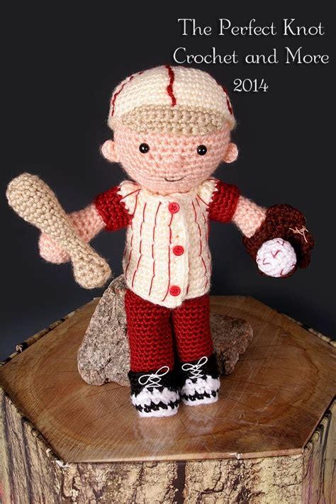 crochet pattern   baby  boy blue baseball