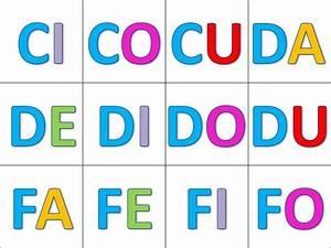 las silabas directas3 Orientación Andújar Recursos Educativos