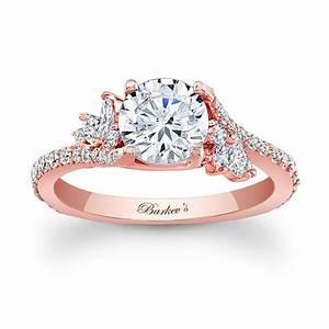Barkev39s Rose Gold Engagement Ring 7908LP Barkev39s