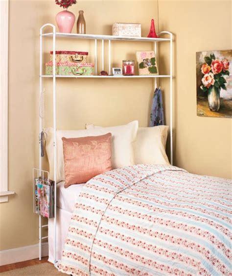 bed storage dorm room space saver metal unit