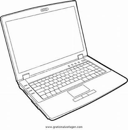 Laptop Computer Malvorlage Zum Malvorlagen Ausdrucken Ausmalen