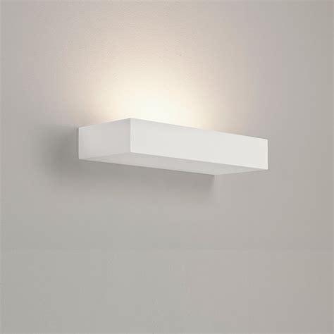 astro lighting parma 300 7039 white plaster wall light