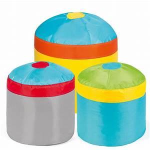 Pouf Poire Enfant : pushbag cupcake pouf poire pour les enfants ensemble 3 pi ces ~ Teatrodelosmanantiales.com Idées de Décoration