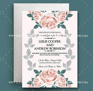 lovely wedding invitation psd wedding invitation design With wedding invitation template deviantart