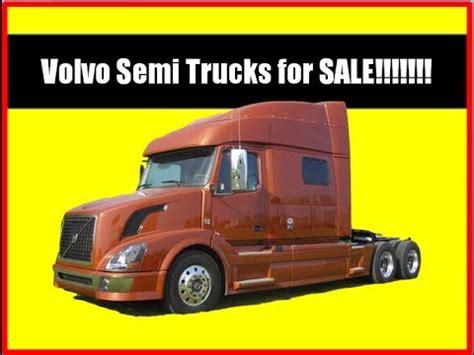 volvo big truck for sale volvo semi trucks for sale youtube