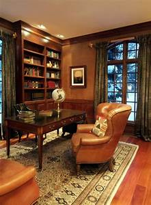 33, Stylish, And, Dramatic, Masculine, Home, Office, Design, Ideas