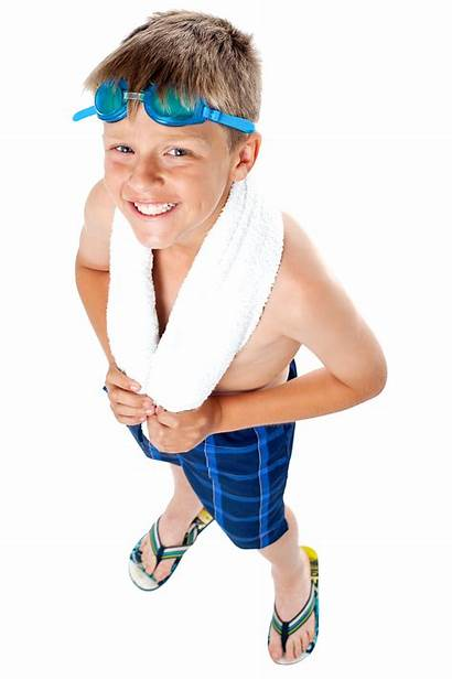 Boy Young Kid Transparent Commercial Swimming Background