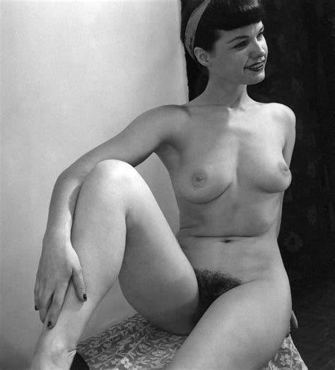 1955 Full Frontal Nude Shoot My Love Bettie Pagie 12