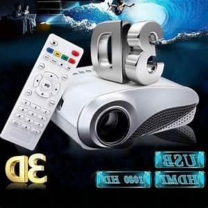 3d Full Hd 1080p Mini Projectors Led Multimedi