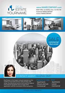 Download the real estate free flyer template for photoshop for Real estate advertisement template