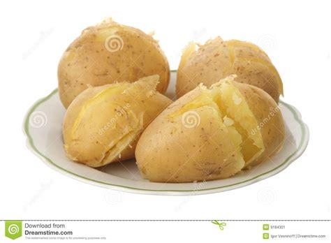 pommes de terre robe de chambre pomme de terre en robe de chambre image stock image du