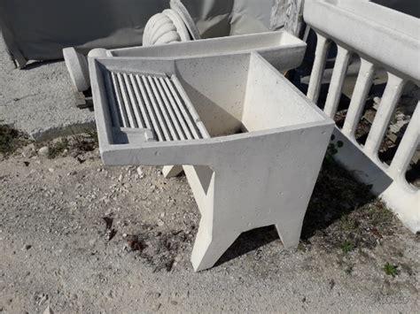 lavello cemento lavello in pietra non comune nascosto posot class