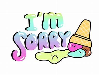 Sorry Sticker Dribbble Imessage Heheh Xcode Learned