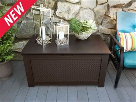 Rubbermaid Patio Chic Storage Bench Deck Box by 17 Best Images About Home Small But Smart On