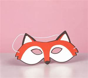 fox mask related keywords fox mask long tail keywords With fantastic mr fox mask template