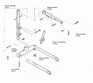 Sears Hydraulic Engine Crane Parts