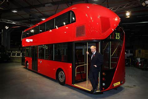 london introduces   double decker bus  garage car