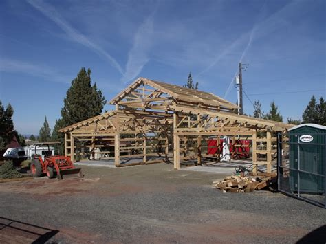 Pole Barn Styles by Monitor Style Pole Building Michael R Construction