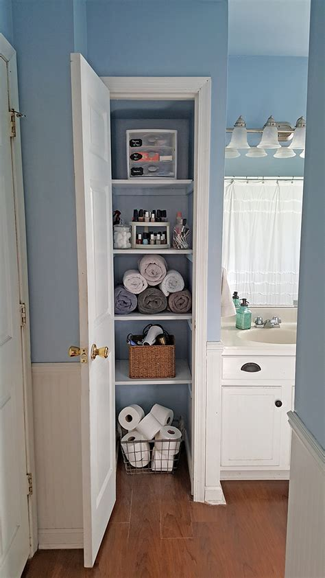 The Linen Closet by Organized Linen Closet The Honeycomb Home