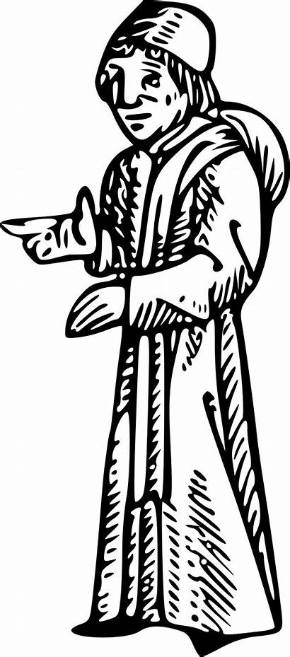 Medieval Lawyer Clipart Drawing Transparent Clip Judge