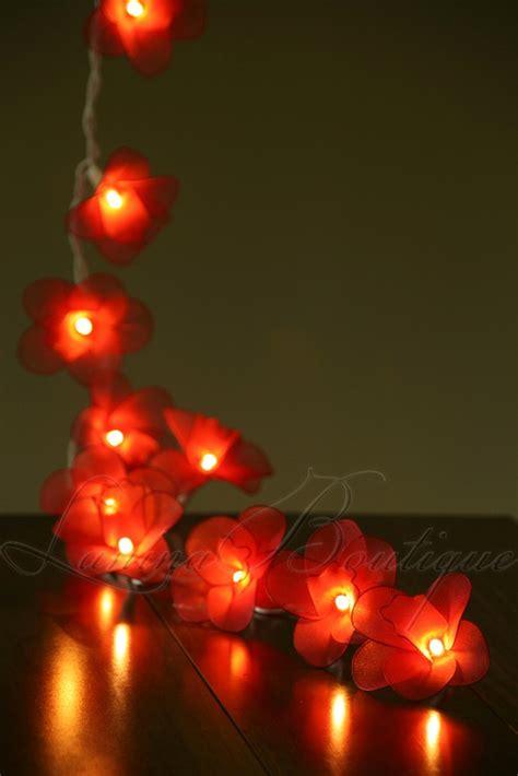 20 orchid flower led string lights new