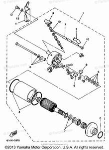 Yamaha Atv 1986 Oem Parts Diagram For Starting Motor