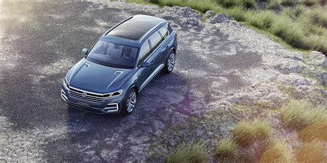 Volkswagen T Prime Concept Gte Unveiled Previews New Touareg