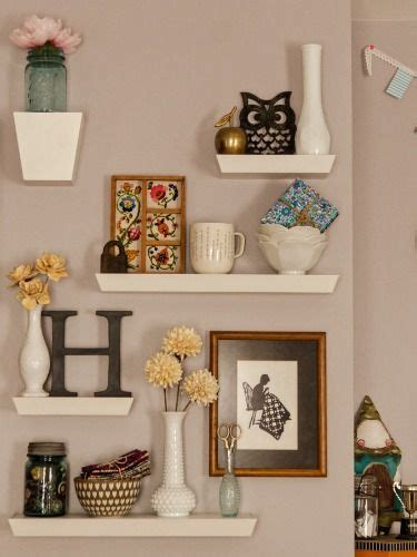 floating wall shelves decorating ideas 10 different ways to style floating shelves projects to Floating Wall Shelves Decorating Ideas