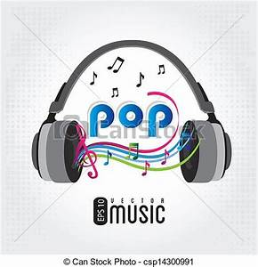 Pop Music Clipart