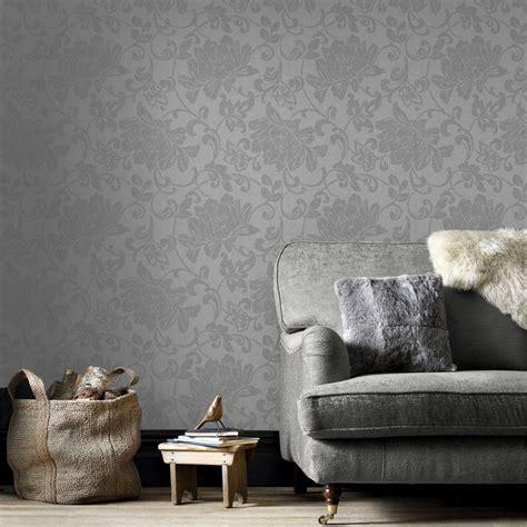 superfresco easy jacquard grey cm   wallpaper