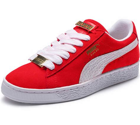Puma Suede Classic Bboy Fabulous Chaussures Rouge Blanc
