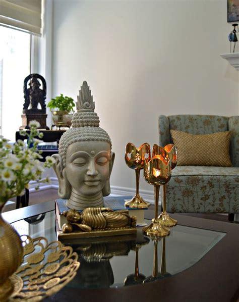 spiritual asian living room decor