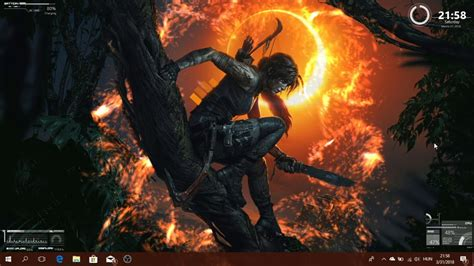 Shadow Of The Tomb Raider Wallpaper Shadow Of The Tomb Raider Live Wallpaper Rainmeter Skins Youtube