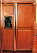 ge monogram side  side fridge