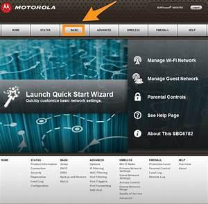 Change Dns On A Motorola Arris Sbg 6700 Router